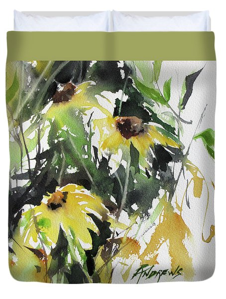 Garden Surprise Duvet Cover