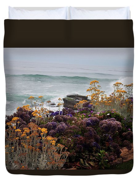 Garden View Duvet Cover by Ivete Basso Photography