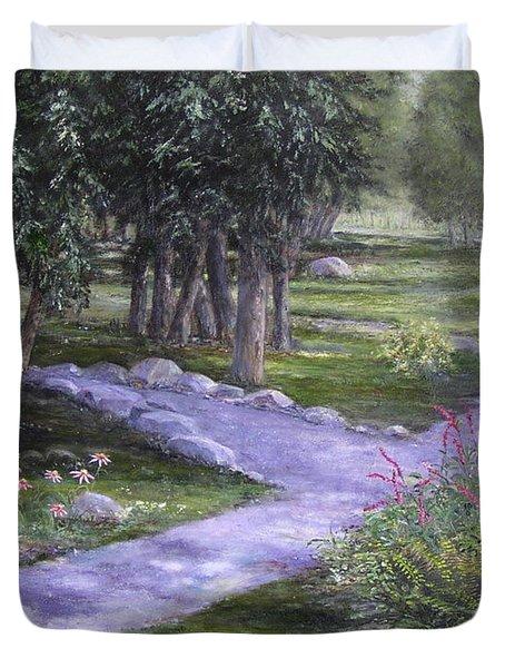 Garden Walk Duvet Cover