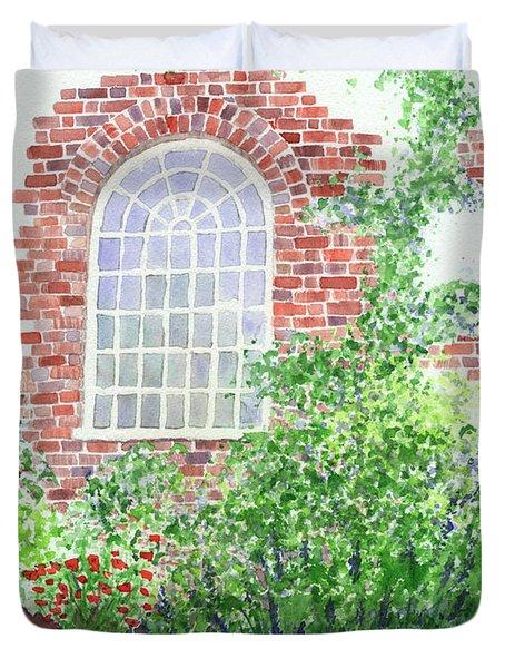 Garden Wall Duvet Cover