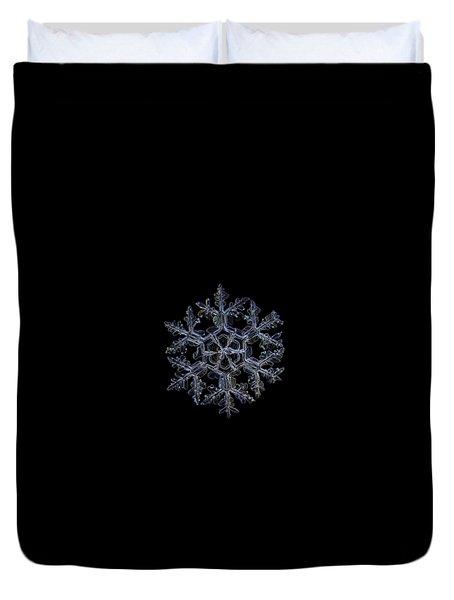 Gardener's Dream, Dark On Black Version Duvet Cover
