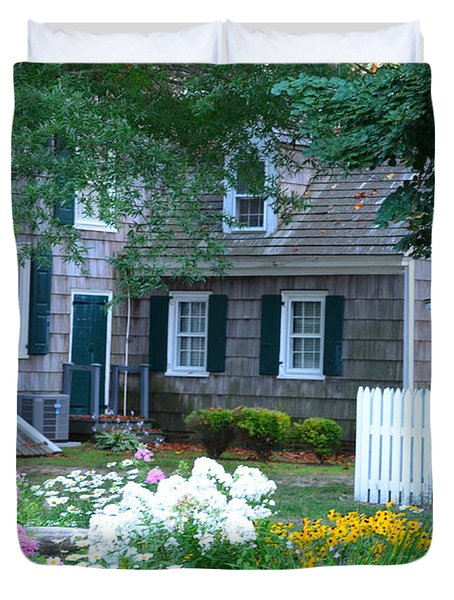 Gardens At The Burton-ingram House - Lewes Delaware Duvet Cover