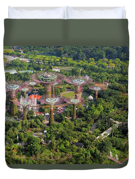Gardens By The Bay Duvet Cover by David Gn