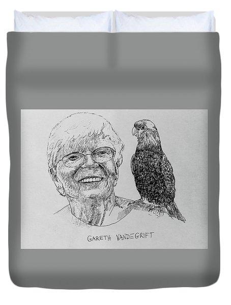 Gareth Vandegrift Duvet Cover