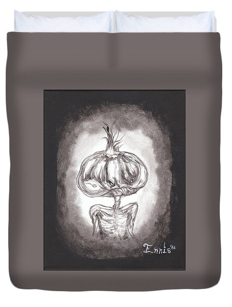 Garlic Boy Duvet Cover