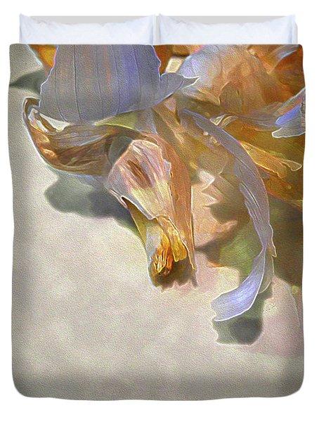 Garlic Skin Gossamer Duvet Cover
