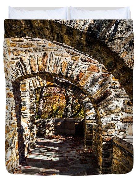 Garrett Chapel Balcony Duvet Cover