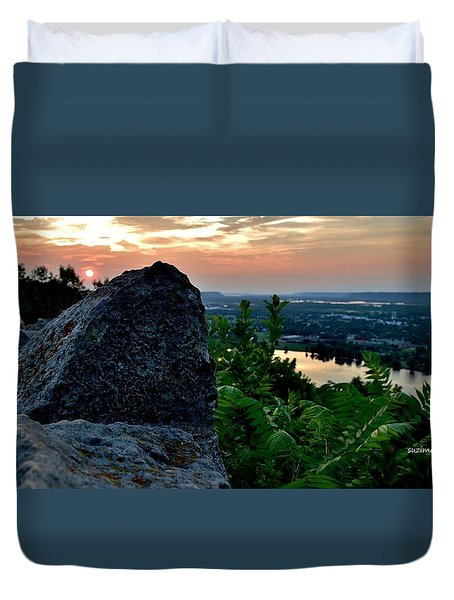 Garvin Heights Sunset Duvet Cover
