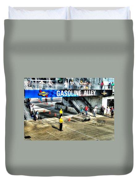 Gasoline Alley Duvet Cover
