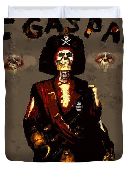 Gasparilla 2011 Duvet Cover by David Lee Thompson