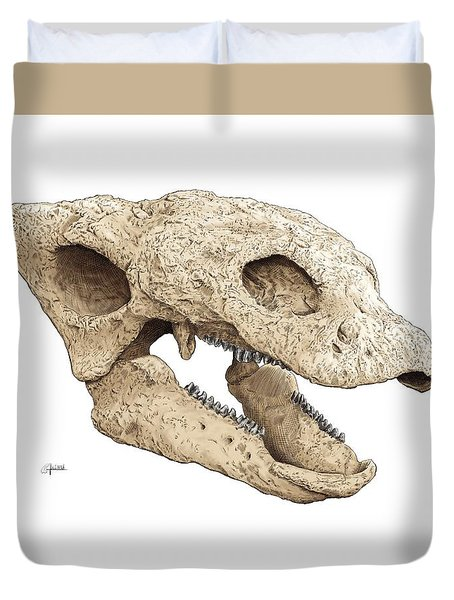 Gastonia Burgei Skull Duvet Cover