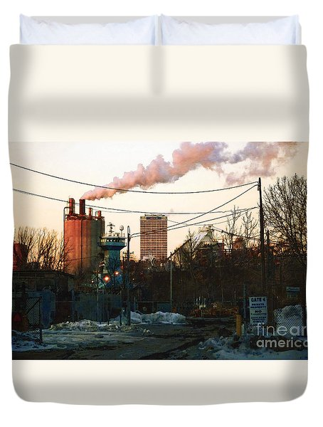 Gate 4 Duvet Cover by David Blank