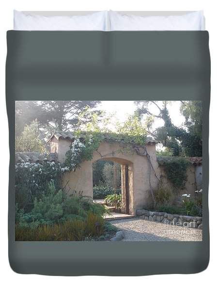 Gate  Duvet Cover