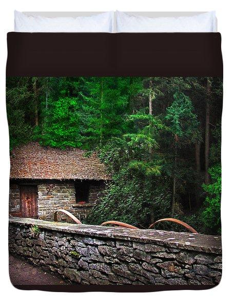 Gate Keeper's Home Duvet Cover