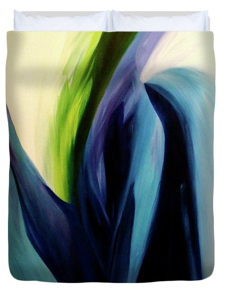 Gate To The Garden  By Paul Pucciarelli Duvet Cover