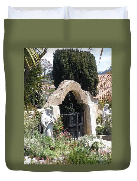 Gate Way To Heaven Duvet Cover