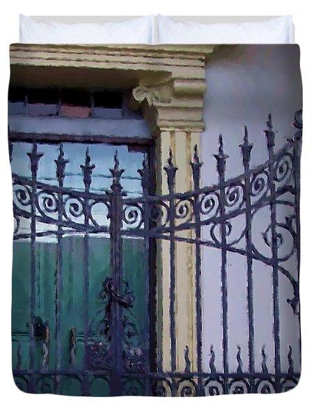 Gated Duvet Cover by Debbi Granruth