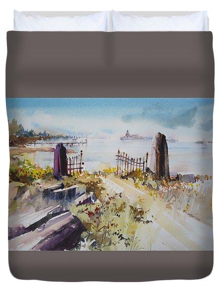 Gated Shore Duvet Cover