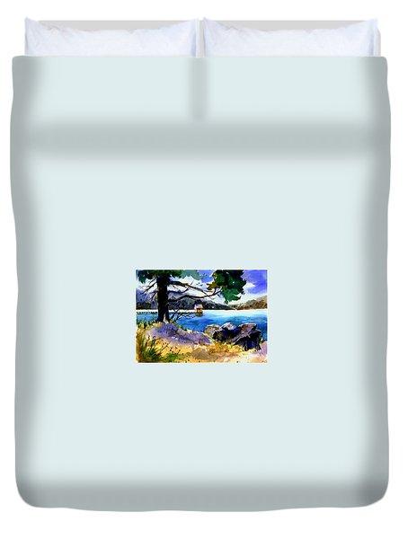 Gatekeeper's Tahoe Duvet Cover