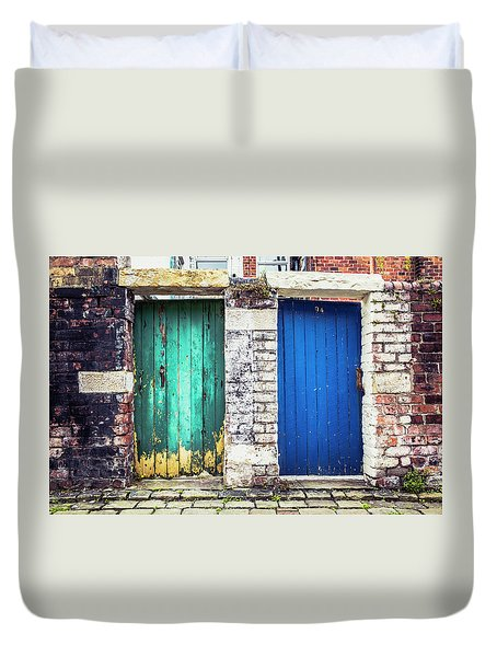 Gates Duvet Cover