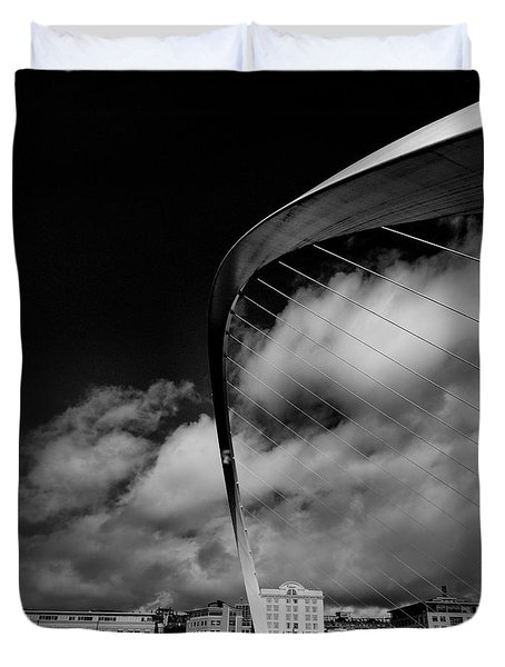 Gateshead Millenium Bridge Duvet Cover