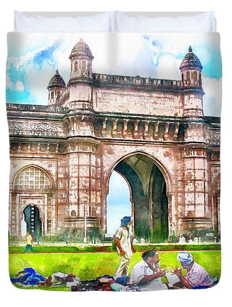 Gateway Of India Duvet Cover