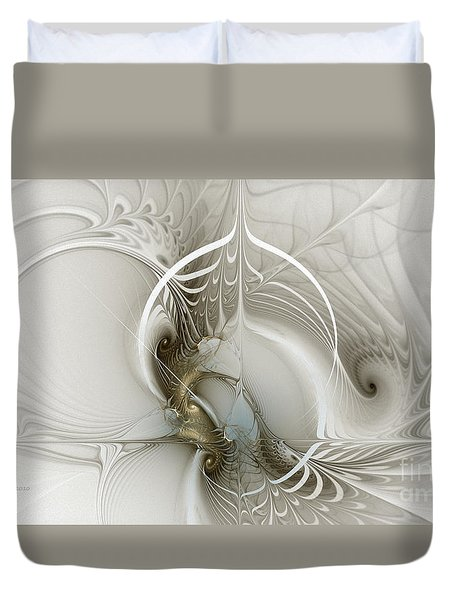 Gateway To Heaven-fractal Art Duvet Cover