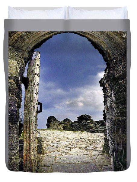 Gateway To The Castle  Duvet Cover