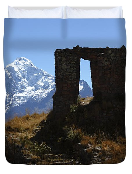 Gateway To The Gods 2 Duvet Cover