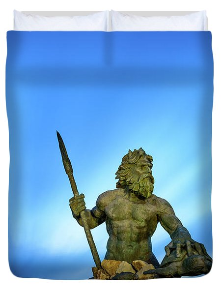 Gateway To The Sea Duvet Cover