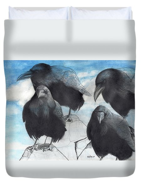 Gathering Duvet Cover