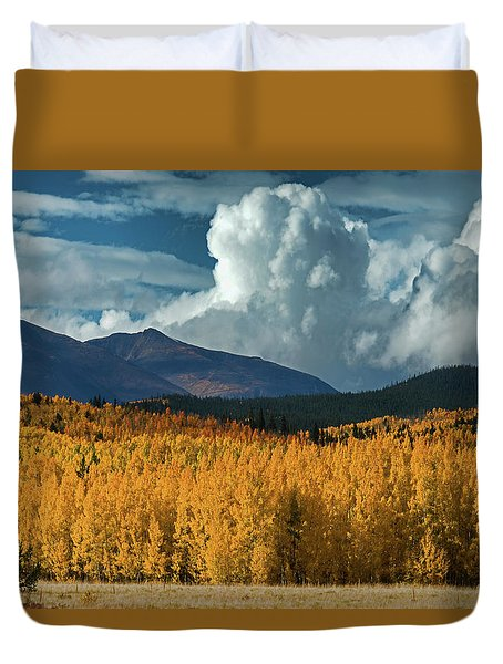 Gathering Storm - Park County Co Duvet Cover