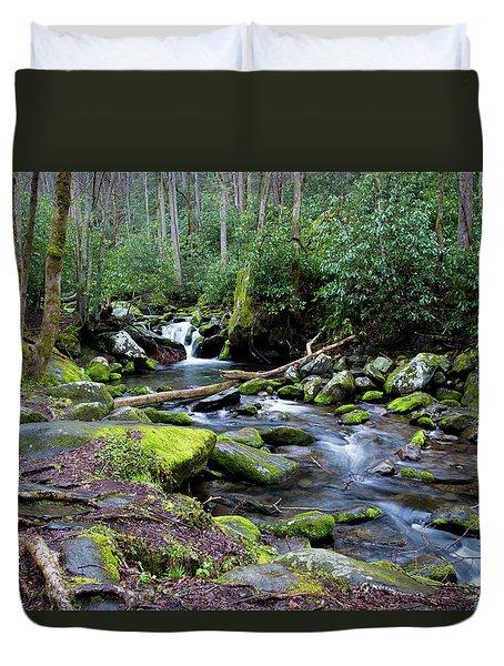 Gatlinburg Water Duvet Cover