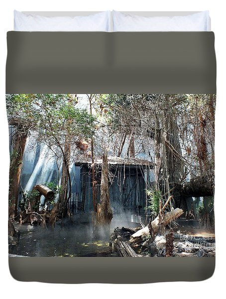 Gator Marsh Duvet Cover
