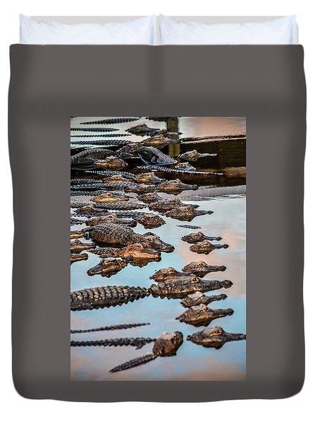 Gator Pack Duvet Cover