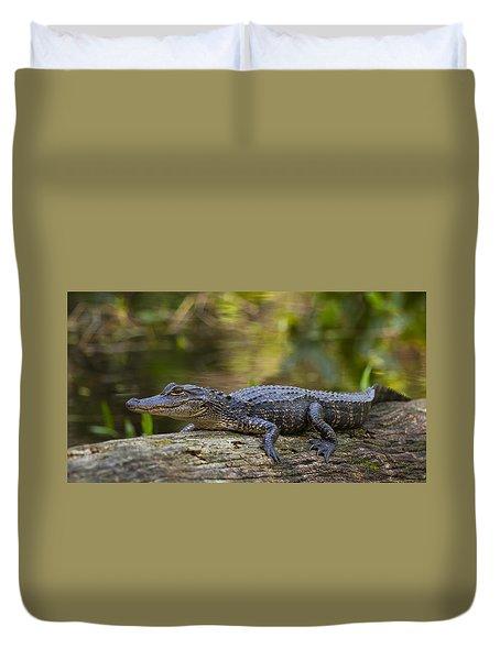 Gator Time Duvet Cover