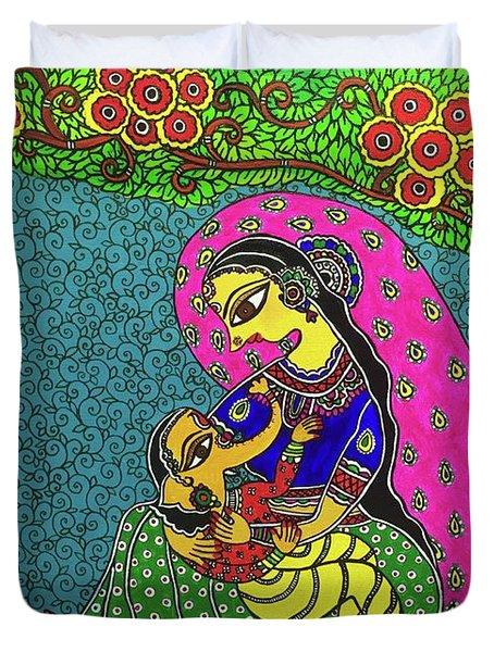 Gauri-ganesh Duvet Cover