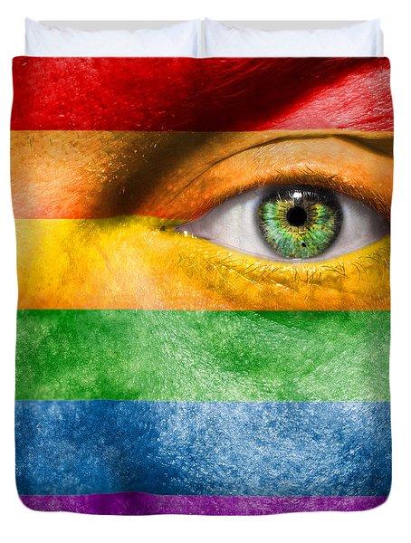Gay Pride Duvet Cover