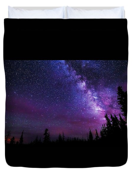 Gaze Duvet Cover by Chad Dutson