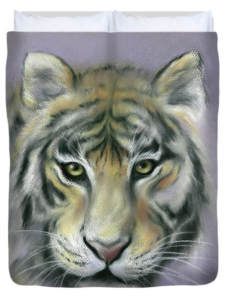 Gazing Tiger Duvet Cover