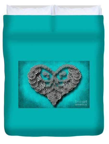 Gear Heart Duvet Cover