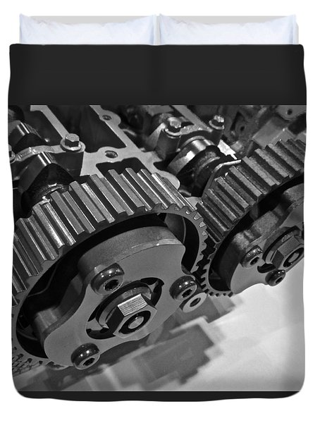Gears Duvet Cover by Jeff Gater