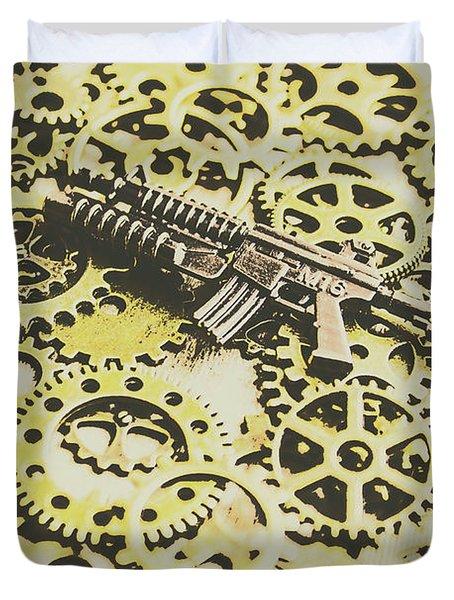 Gears Of War Duvet Cover