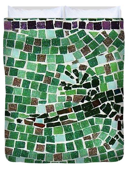 Gecko Duvet Cover by Jamie Frier