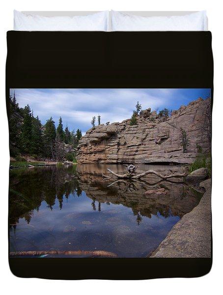 Gem Lake Duvet Cover
