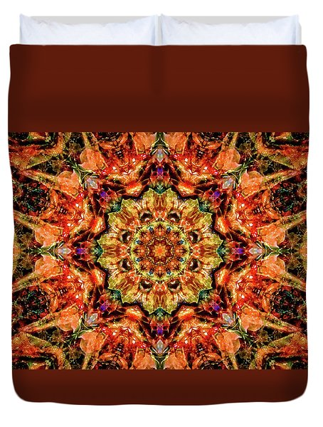 Gem Pattern Duvet Cover by Anton Kalinichev