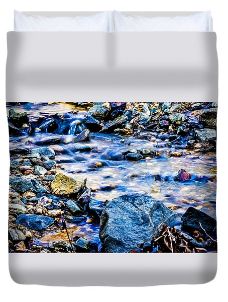 Gem Stones Duvet Cover