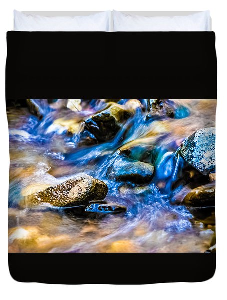 Gem Stream Splash Duvet Cover