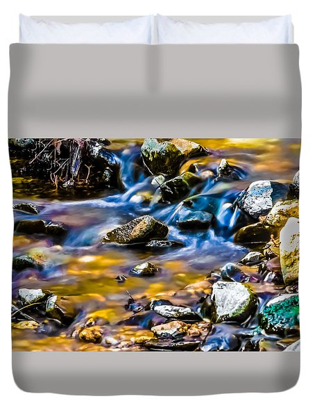 Gem Stream Duvet Cover