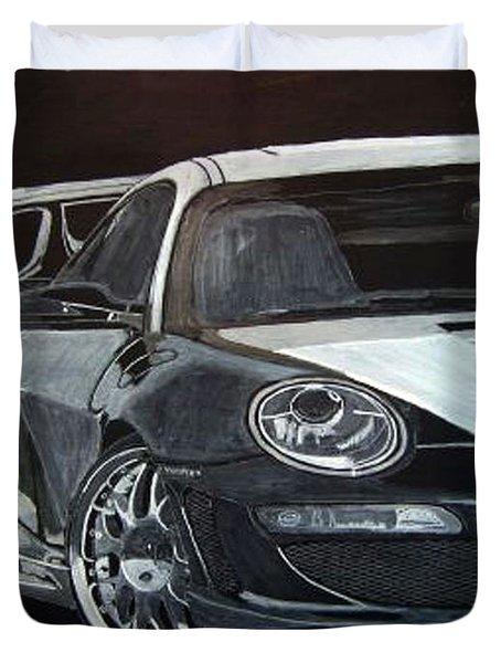 Gemballa Porsche Right Duvet Cover
